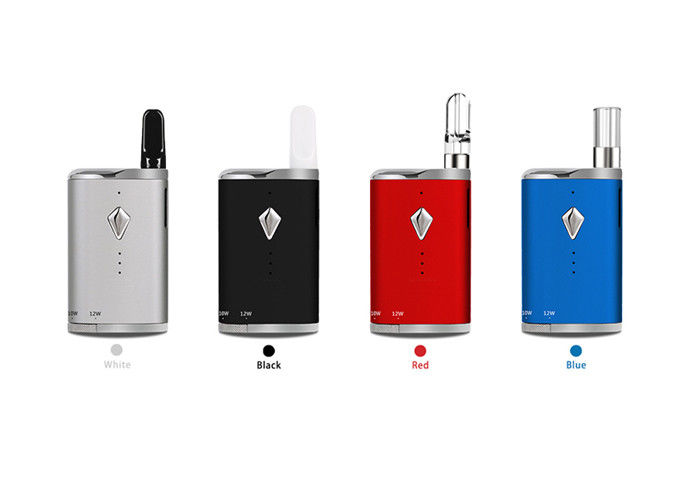 4 Colors Vape Battery Mod 650mAh VW TC Box Mod 510 Thread Preheat Battery Komodo C6